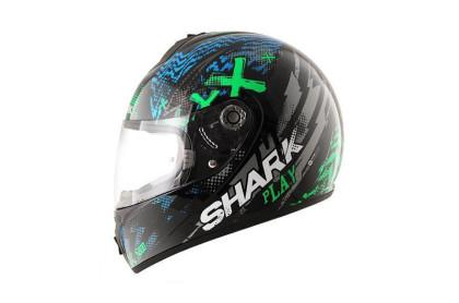 S600 PINLOCK PLAY  Black Green Blue