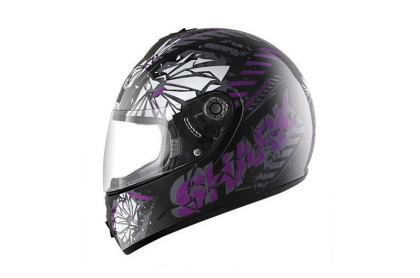 S600 PINLOCK POONKY Black Violet Anthracite