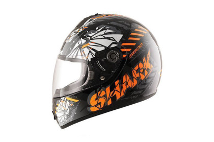 S600 PINLOCK POONKY Black orange antraci