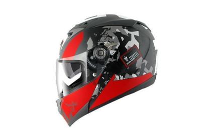 S700 PINLOCK TRAX Mat Black Red Anthracite