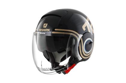 SHARK NANO 72 Black Gold glitter